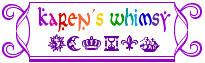 Free Heraldry from Karen's Whimsy