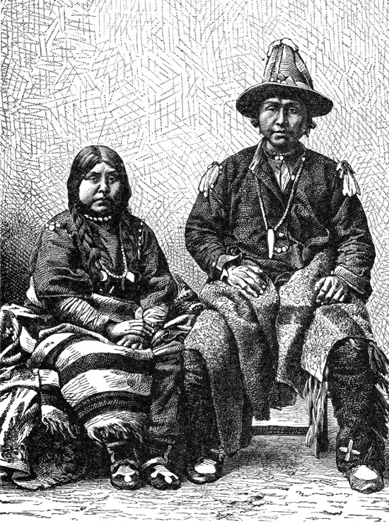 American Indians - Mission Indians from Lower California