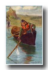 Arthurian Legend Camelot - As He Took It, the Hand and Arm Vanished in the Water