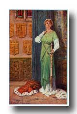 Arthurian Legend Camelot - She Wore a Heavy Sword