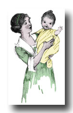 Baby Graphics :: Mother Holding Baby