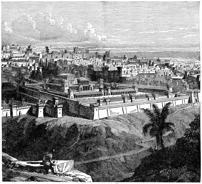 Babylonia - View of Jerusalem