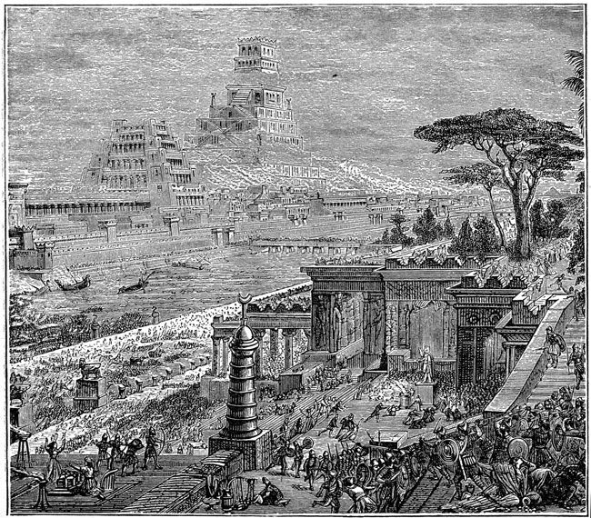 Babylonia - Capture of Babylonia by the Persians