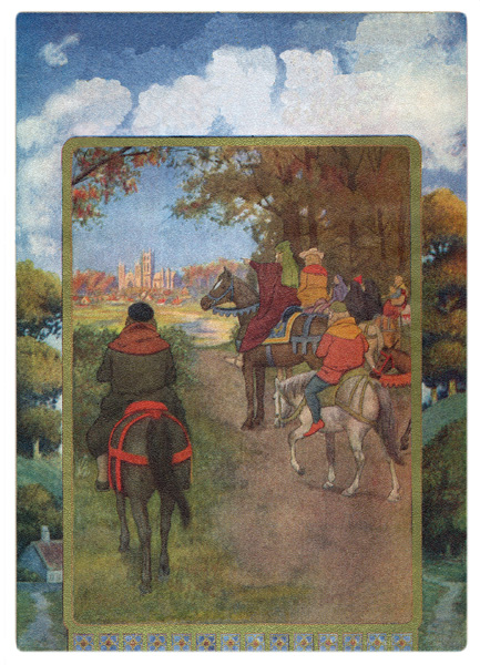 Canterbury Tales Characters :: The Pilgrims Arrive at Canterbury