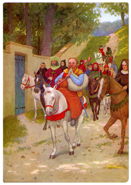 canterbury tales winner Summary of the knight's tale from chaucer's the canterbury tales.