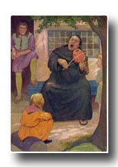 Canterbury Tales - Hubert the Friar from The Wife of Bath's Tale