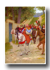 Canterbury Tales - The Miller from The Departure from Southwark