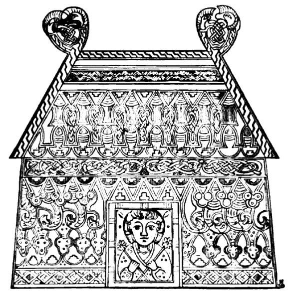 Celtic Art - Temple from the Book of Kells