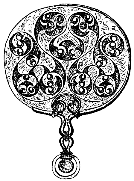 Celtic Art - Bronze Disk