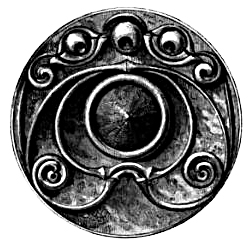 Celtic Art - Bronze Mirror