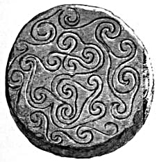 Celtic Art - Sandstone Disk
