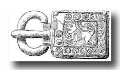 Celtic Clip Art - West Gothic Buckle