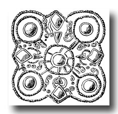 Celtic Clip Art - Burgundian Ornaments from Elisried