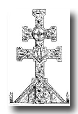 Celtic Cross Clip Art - Cross from St. Martin, Limoges