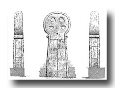 Celtic Cross Clip Art - In the Market-Place, Penzance
