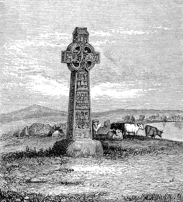 Celtic Cross Clipart - Monasterboice, Iouth
