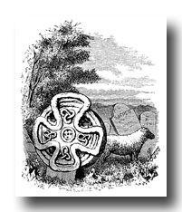 Celtic Cross Clipart - St. Columb Cross, Cornwall