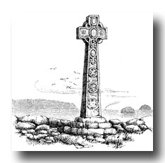 Celtic Cross Clipart - Cross from Iona, Scotland
