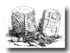 Celtic Cross Clipart - Remains of Ruinc Cross, West Kirby, Cheshire