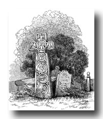 Celtic Cross Clipart - Eyam Cross, Derbyshire