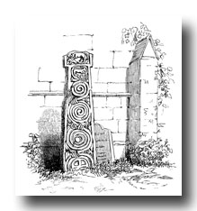 Celtic Cross - Cross in Bakewell Churchyard - East Side