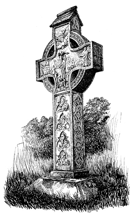 Celtic Crosses - Cross at Rosstrevor
