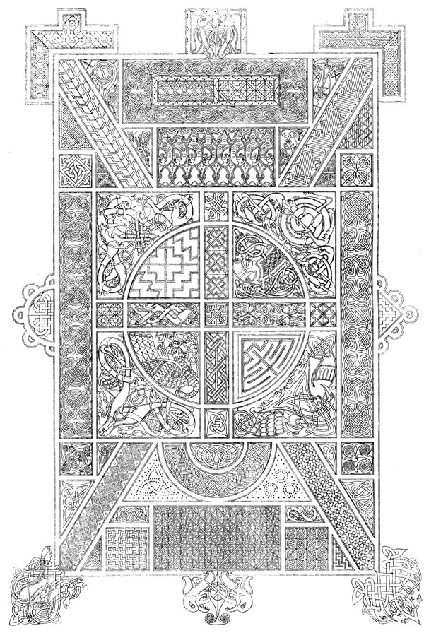 Celtic Graphics - Ancient Celtic Ornament #1