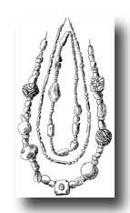 Celtic Jewelry - Three Neck Ornaments