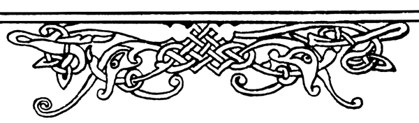 Celtic Knot Designs - From an Irish Spelling Book