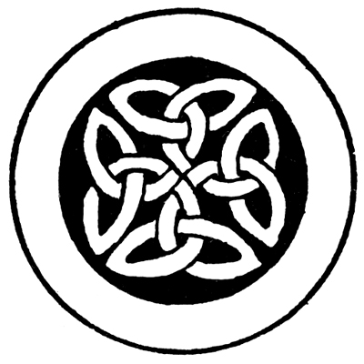 Celtic Knot Patterns - Manuscript Paintings of Celtic-Ango Saxon Origin #3