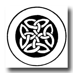 Celtic Knot Patterns - Manuscript Paintings of Celtic-Ango-Saxon Origin #3