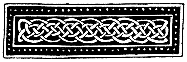 Celtic Knotwork - Speciman from Manuscript Paintings