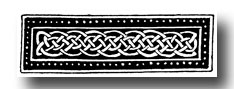 Celtic Knotwork - Speciman from a Manuscript Paintings