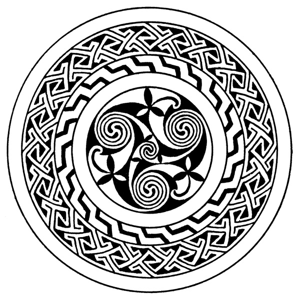 Celtic | Free Stained Glass Patterns