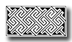 Celtic Pattern - Key Pattern from Abercorn, Linlithgowhire