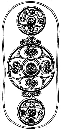 Celtic Symbols - Bronze Shield