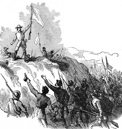 Civil War Battles - Surrender of Fort Donelson, Tennessee