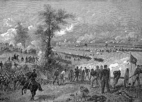 Civil War Battles - Battle of Malvern Hill, Virginia