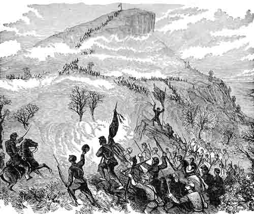 Civil War Battles - Battle of Lookout Mountain