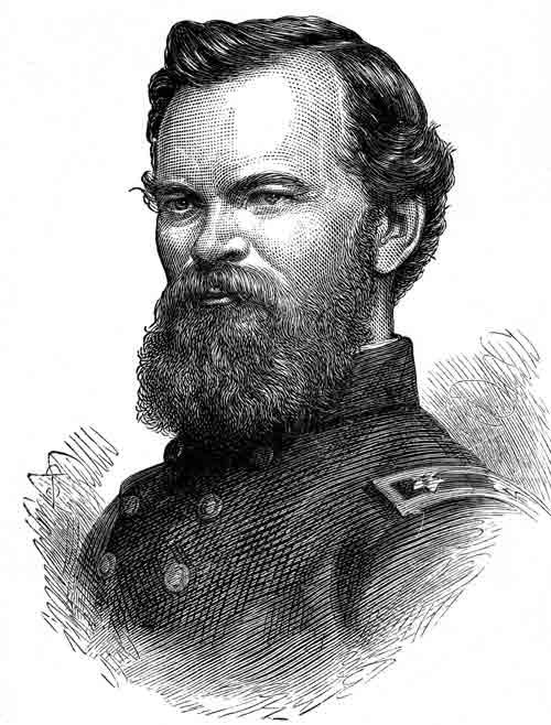 Civil War Generals - General James B. McPherson