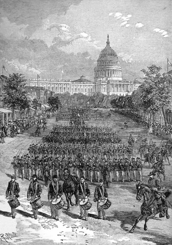 Review of the Union Army at Washington