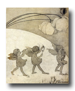 Drawings of Children - Image 6 :: Tiny Fairies on Parade
