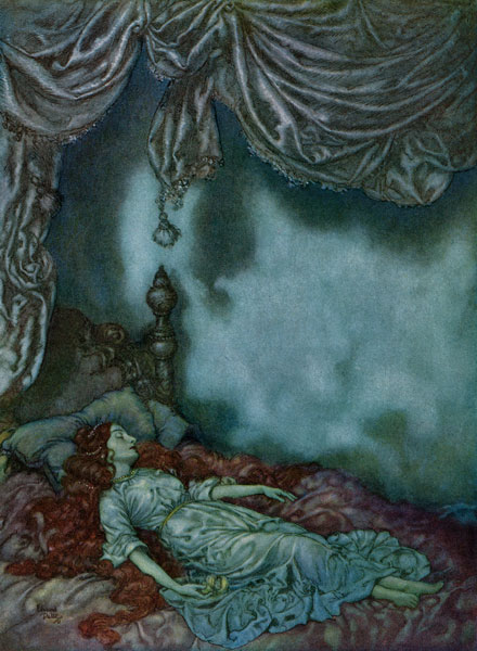Dulac Illustrations :: The Sleeper
