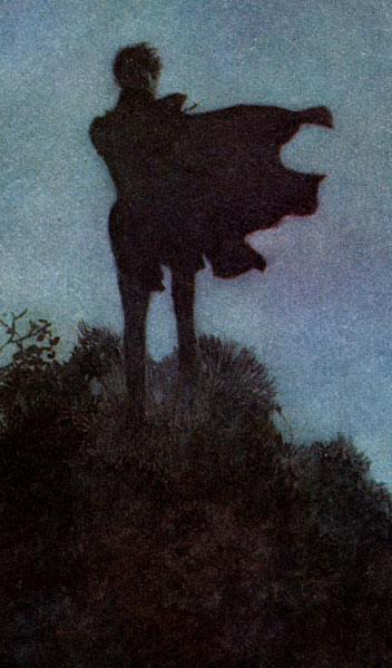 Dulac Illustrations :: Close-up of Alone