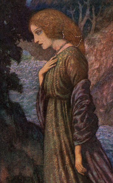 Edmund Dulac :: Annabel Lee Close-Up