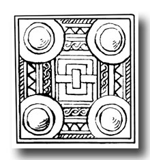 Free Celtic Clip Art -Belt Buckle