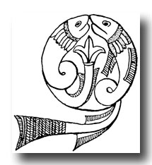Free Celtic Designs - Manuscript Painting from the 8th Century