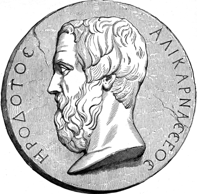 Herodotus - Image on a Coin