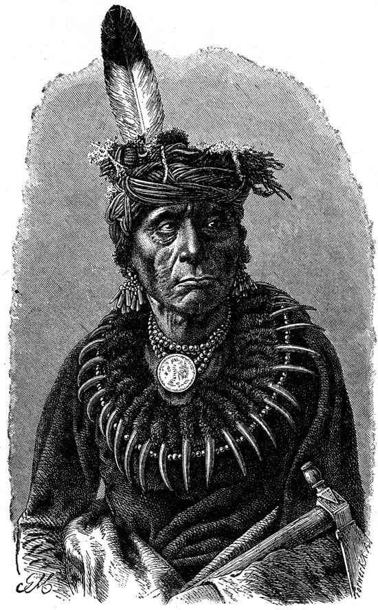 Indian Chiefs - Dakota Sioux Chief