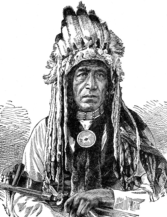 Indian Chiefs - Crow Chief